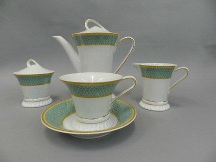 Rudolf Kampf Чайный сервиз на 6 персон, 15 пр. 57160725-2612 Rudolf Kampf jk 68 чайный сервиз на 6 перс роза milano rose pavone