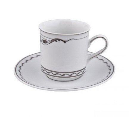 Rudolf Kampf Набор из двух чайных пар (0.2 л) 02140415-2275k Rudolf Kampf rudolf kampf чашка чайная dali с блюдцем 46120425 1001 rudolf kampf