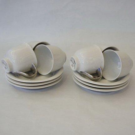 Rudolf Kampf Набор чашек (0.1 л) с блюдцем, 6 шт. 52160413-1122k Rudolf Kampf rudolf kampf чашка чайная dali с блюдцем 46120425 1001 rudolf kampf