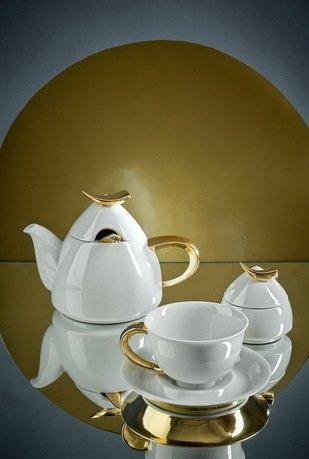 Rudolf Kampf Чайный сервиз на 6 персон, 15 пр. 52160728-1124k Rudolf Kampf сервиз чайный 15 пр цвет белый