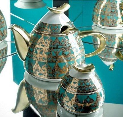 Rudolf Kampf Чайный сервиз на 6 персон, 15 пр. 52160728-2292k Rudolf Kampf rudolf kampf чашка чайная dali с блюдцем 46120425 1001 rudolf kampf