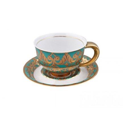 Чашка Kelt (0.35 л) с блюдцем 52120411-2292k Rudolf Kampf helen dickson odnaleźć szczęście