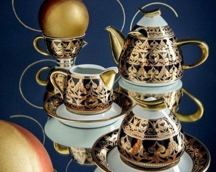 Rudolf Kampf Чайный сервиз на 6 персон, 15 пр. 52160724-2293k Rudolf Kampf jk 68 чайный сервиз на 6 перс роза milano rose pavone
