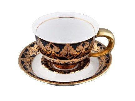 Rudolf Kampf Чашка Kelt (0.35 л) с блюдцем 52120411-2293 Rudolf Kampf rudolf kampf чашка чайная dali с блюдцем 46120425 1001 rudolf kampf