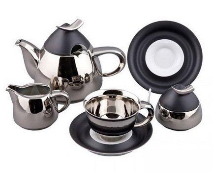 Rudolf Kampf Чайный сервиз на 6 персон, 15 пр. 52160725-252Ak Rudolf Kampf сервиз чайный 15 пр цвет белый