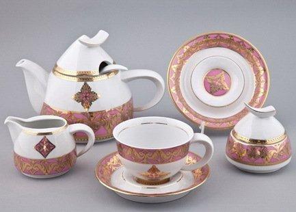 Чайный сервиз на 6 персон, 15 пр. 52160728-2296k Rudolf Kampf