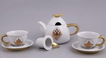 Rudolf Kampf Подарочный набор чайный, 2 пр. 52140715-2237k Rudolf Kampf rudolf kampf чашка чайная dali с блюдцем 46120425 1001 rudolf kampf