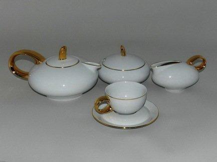 Rudolf Kampf Чайный сервиз на 6 персон, 15 пр. 42160725-2566 Rudolf Kampf rudolf kampf чашка чайная dali с блюдцем 46120425 1001 rudolf kampf
