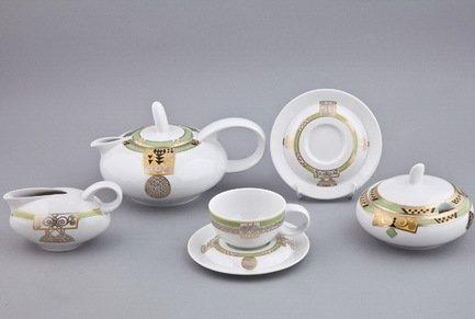 Rudolf Kampf Чайный сервиз на 6 персон, 15 пр. 42160725-0692 Rudolf Kampf сервиз чайный bekker bk 7146 15 предметов 6 персон