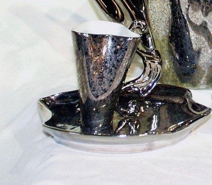 Чашка высокая Dali (0.15 л) с блюдцем 46120414-2251k Rudolf Kampf