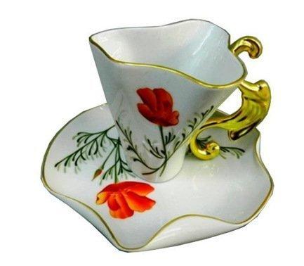 Чашка Dali (0.15 л) с блюдцем 46120425-240Lk Rudolf Kampf