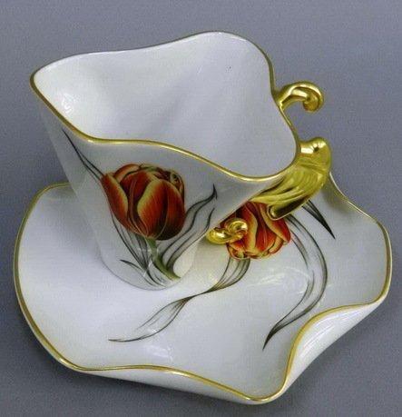 Чашка Dali (0.15 л) с блюдцем 46120425-240Ok Rudolf Kampf чашка чайная dali с блюдцем 46120425 1001 rudolf kampf
