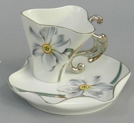 Чашка Dali (0.15 л) с блюдцем 46120425-240Xk Rudolf Kampf чашка чайная dali с блюдцем 46120425 1001 rudolf kampf