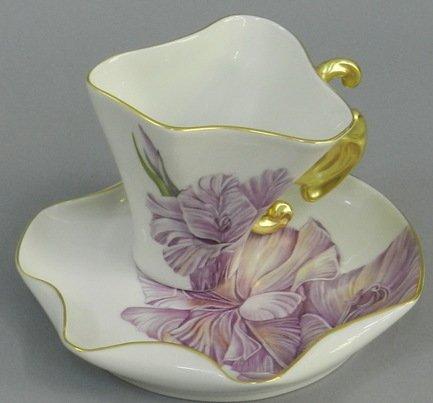 Чашка Dali (0.15 л) с блюдцем 46120425-240Yk Rudolf Kampf чашка чайная dali с блюдцем 46120425 1001 rudolf kampf