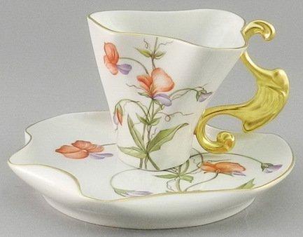 Чашка Dali (0.15 л) с блюдцем 46120425-240Z Rudolf Kampf чашка чайная dali с блюдцем 46120425 1001 rudolf kampf
