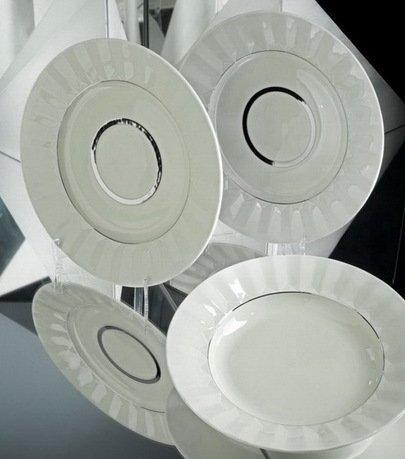 Rudolf Kampf Тарелка десертная, 19 см 61510329-2014 Rudolf Kampf kpm kurland weiß десертная тарелка овальной формы маленькая 13 см