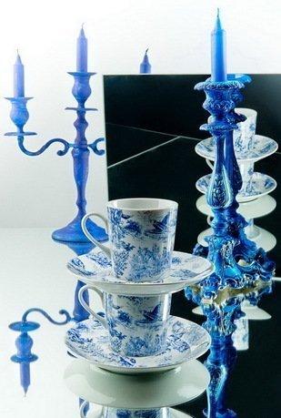 Набор чашек высоких (0.2 л) с блюдцами, 6 шт. 53160415-1255k Rudolf Kampf