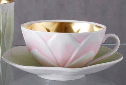 Rudolf Kampf Чашка Flora deCora (0.35 л) с блюдцем 59120411-1734 Rudolf Kampf rudolf kampf чашка чайная dali с блюдцем 46120425 1001 rudolf kampf