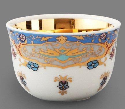 Rudolf Kampf Набор чашек (0.1 л) для арабского кофе, 6 шт. 02110403-2025k