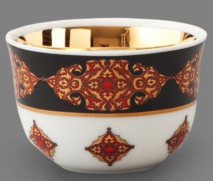 Rudolf Kampf Набор чашек (0.1 л) для арабского кофе, 6 шт. 02110403-2095k