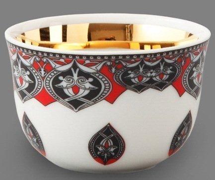 Rudolf Kampf Набор чашек (0.1 л) для арабского кофе, 6 шт. 02110403-2125k