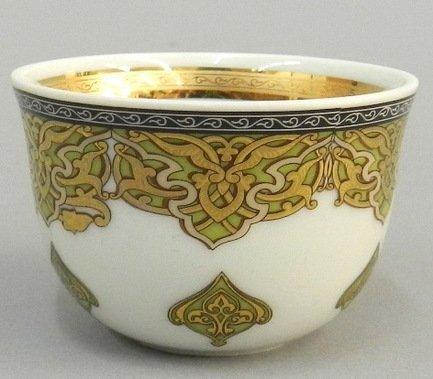 Rudolf Kampf Набор чашек (0.1 л) для арабского кофе, 6 шт. 02110403-2135k
