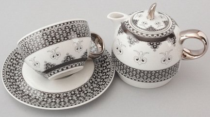 купить Rudolf Kampf Чайный набор на 1 персону, 3 пр. недорого