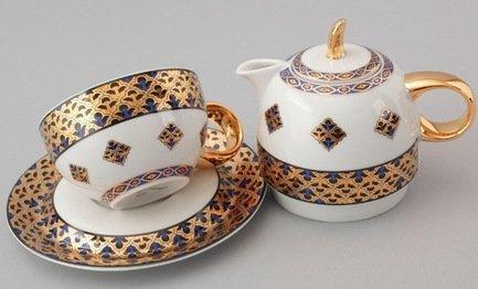 Rudolf Kampf Чайный набор на 1 персону, 3 пр. 42140825-2075 Rudolf Kampf rudolf kampf чашка чайная dali с блюдцем 46120425 1001 rudolf kampf