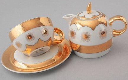 цена на Чайный набор на 1 персону, 3 пр. 42140825-2045k Rudolf Kampf