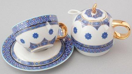цена на Чайный набор на 1 персону, 3 пр. 42140825-2085k Rudolf Kampf