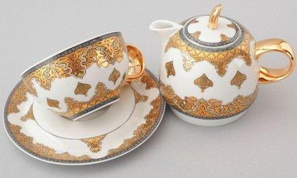 цена на Чайный набор на 1 персону, 3 пр. 42140825-2135k Rudolf Kampf