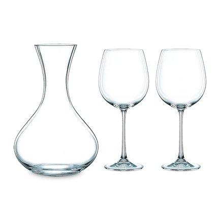 Nachtmann Набор бокалов для вина Vivendi c декантером, 3 пр. 98057 Nachtmann бокал для вина nachtmann 13 92082