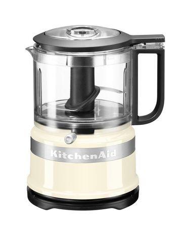 KitchenAid Комбайн кухонный мини, кремовый 5KFC3516EAC KitchenAid кухонный комбайн moulinex fp542132 белый