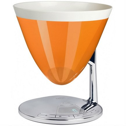 Casa Bugatti Весы-таймер кухонные Uma, оранжевые 56-7180CO