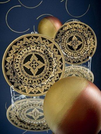 Блюдо круглое мелкое, 30 см 02111333-2283k Rudolf Kampf