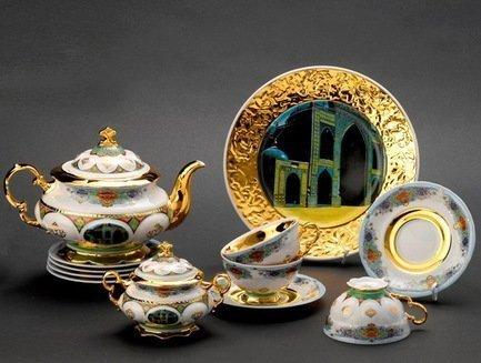 Rudolf Kampf Чайный сервиз на 6 персон Афганистан, 15 пр. 07160725-2031