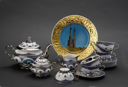 Rudolf Kampf Чайный сервиз на 6 персон Иран, 15 пр. 07160725-2061 Rudolf Kampf rudolf kampf чайный сервиз на 6 персон сирия 15 пр 07160725 2111 rudolf kampf