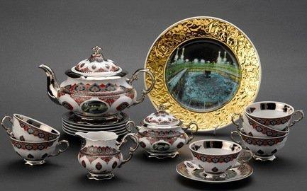 Rudolf Kampf Чайный сервиз на 6 персон Саудовская Аравия, 15 пр. 07160725-2121