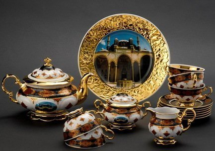Rudolf Kampf Чайный сервиз на 6 персон Турция, 15 пр. 07160725-2091