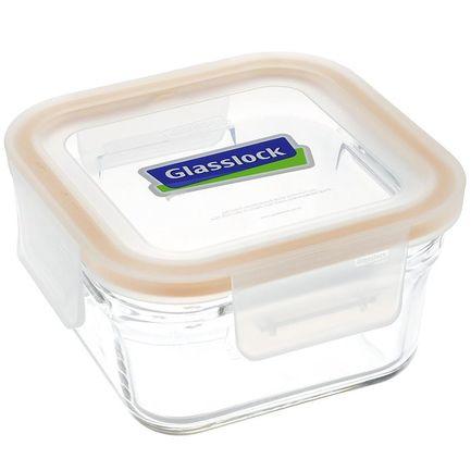 Glasslock Контейнер (1.65 л), 18x18x7.9 см, квадратный glasslock контейнер 2 0 л