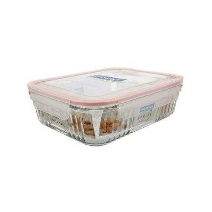 Glasslock Контейнер (1.9 л), 21.1х21.1х6.4 см, квадратный glasslock контейнер 2 0 л
