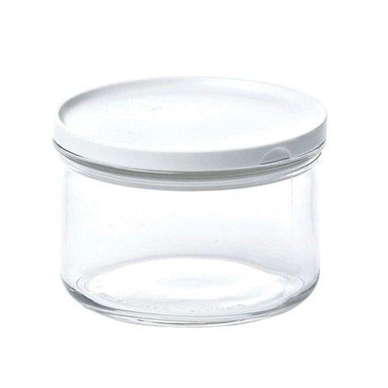 Glasslock Контейнер (0.35 л), 6.48х10.4 см, круглый контейнер glasslock круглый 850 мл