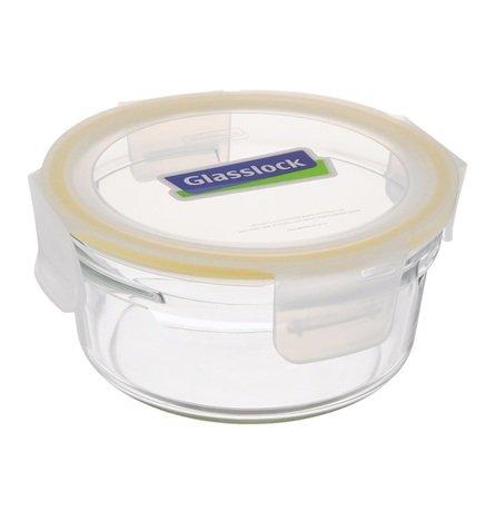 Glasslock Контейнер (0.305 л), 11x6 см, круглый ORCT-035 Glasslock glasslock контейнер 3 6 л 29 1х23 1x7 6 см прямоугольный