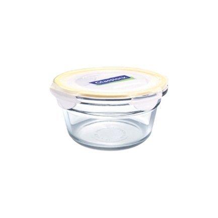 Glasslock Контейнер (0.45 л), 13х5.7 см, круглый контейнер glasslock круглый 900 мл