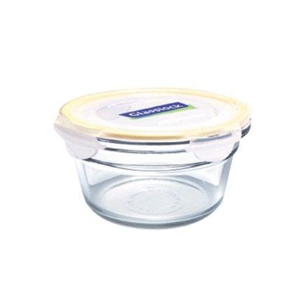 Glasslock Контейнер (0.485 л), 16х6.8 см, круглый контейнер glasslock круглый 900 мл