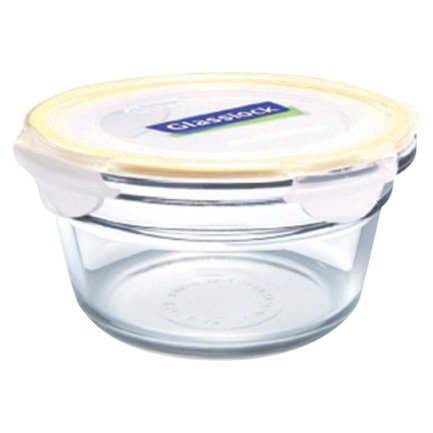 Glasslock Контейнер (1.48 л), 16х6.8 см, круглый OCCT-148 Glasslock glasslock контейнер 0 48 л 16 4x11 4x6 2 см прямоугольный