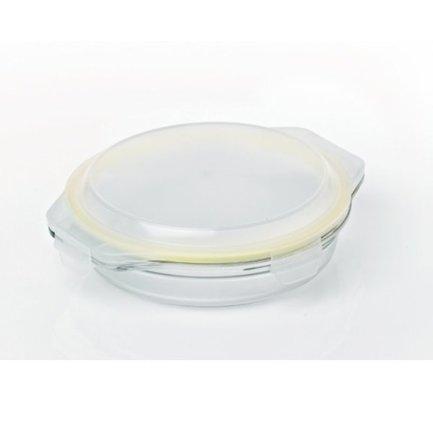 Glasslock Контейнер (1.7 л), 28х5.25 см, круглый контейнер glasslock круглый 900 мл