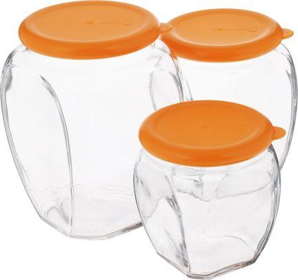 Glasslock Набор контейнеров, 3 пр. IG-674 Glasslock