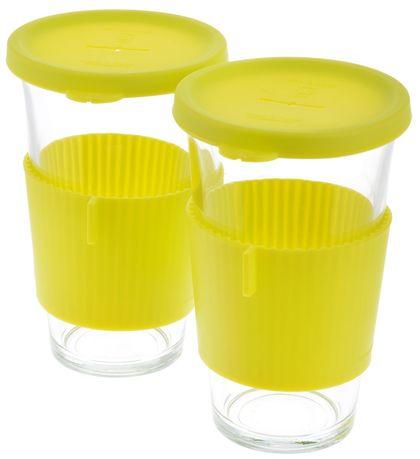 Набор стаканов для горячих напитков (0.38), 2 пр. GL-1363 Glasslock набор для микроволновки 2 пр bekker набор для микроволновки 2 пр