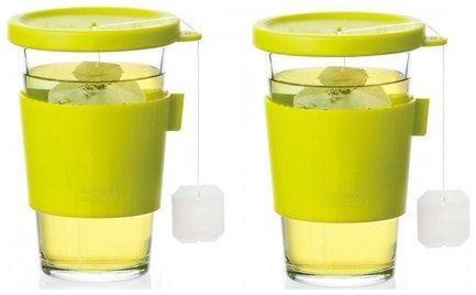 Glasslock Набор стаканов для горячих напитков (0.5), 2 пр. набор стаканов для напитков salt